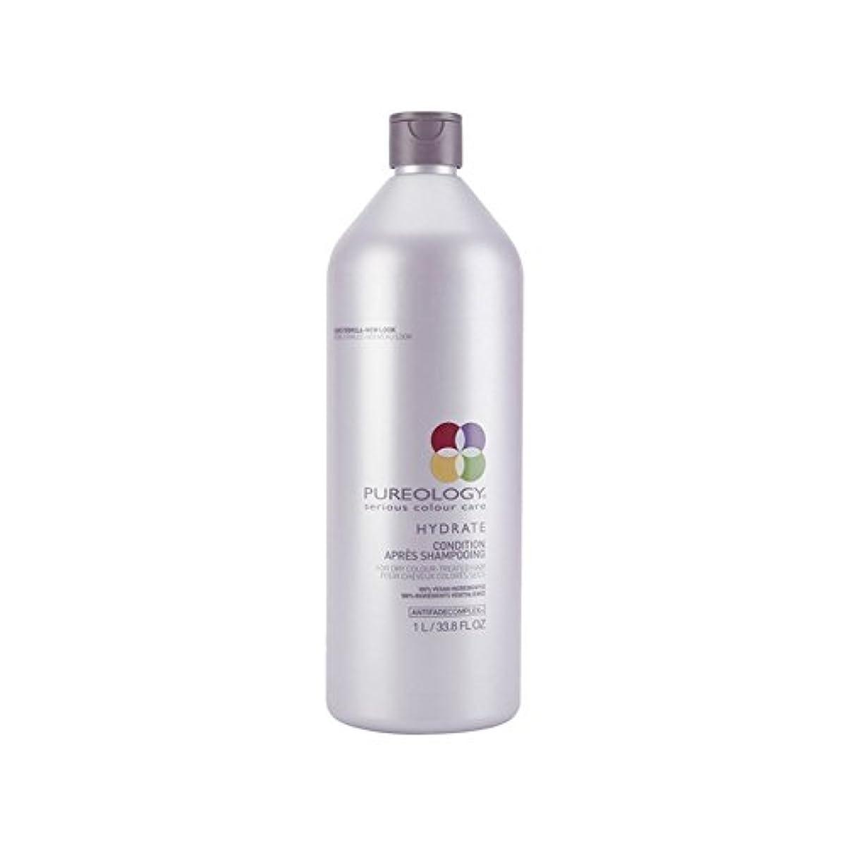 妊娠した純度クリップ蝶Pureology Pure Hydrate Conditioner (1000ml) (Pack of 6) - 純粋な水和物コンディショナー(千ミリリットル) x6 [並行輸入品]