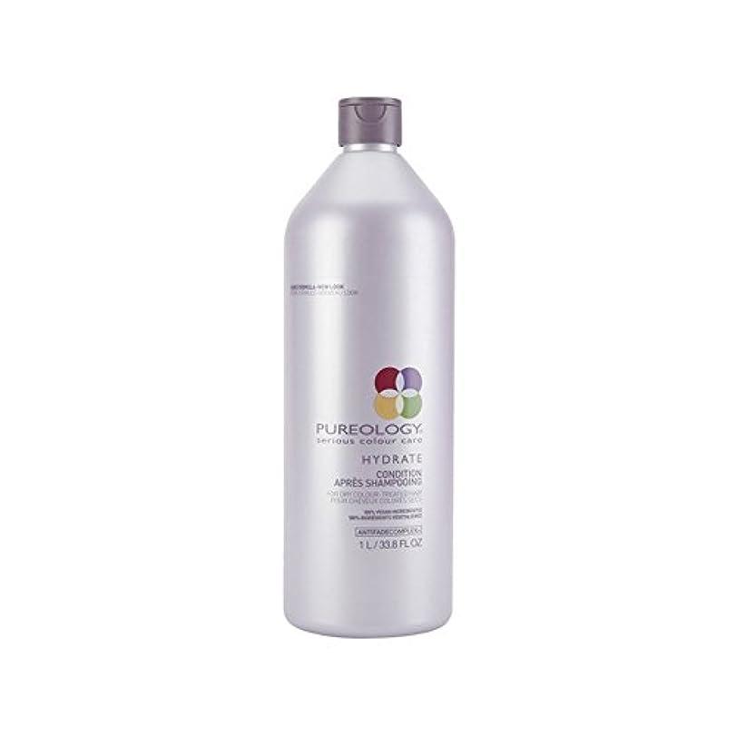 叫ぶ旧正月尊敬するPureology Pure Hydrate Conditioner (1000ml) (Pack of 6) - 純粋な水和物コンディショナー(千ミリリットル) x6 [並行輸入品]