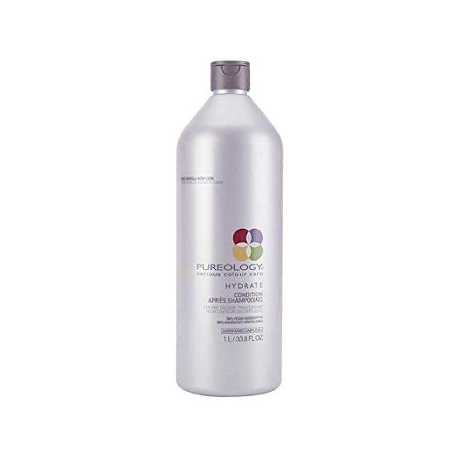 権利を与えるバランスのとれた王室Pureology Pure Hydrate Conditioner (1000ml) (Pack of 6) - 純粋な水和物コンディショナー(千ミリリットル) x6 [並行輸入品]