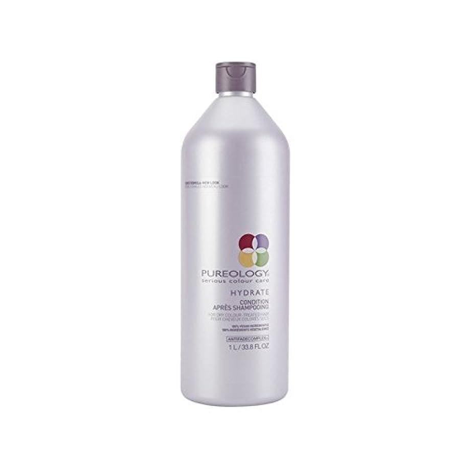 自分のためにシャープなんとなく純粋な水和物コンディショナー(千ミリリットル) x2 - Pureology Pure Hydrate Conditioner (1000ml) (Pack of 2) [並行輸入品]