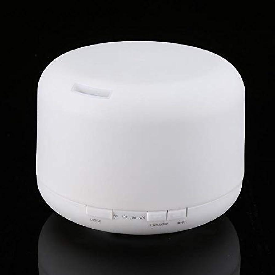 頭蓋骨縮れたとは異なりアロマセラピー加湿器、エッセンシャルオイルディフューザーアロマセラピー香油蒸発器加湿器7 LEDライト(私たち)