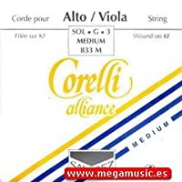 CUERDA VIOLA - Savarez (Corelli Alliance 833M) (Plata) 3ェ Medium Viola 4/4