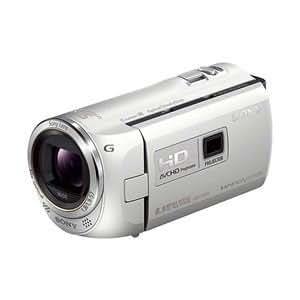 SONY デジタルHDビデオカメラレコーダー「HDR-PJ390」(プレミアムホワイト) HDR-PJ390-W
