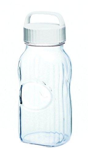 東洋佐々木ガラス 漬け上手 果実酒ポット ホワイト 2000ml 日本製 食洗機対応 I-77861-W-B-JAN