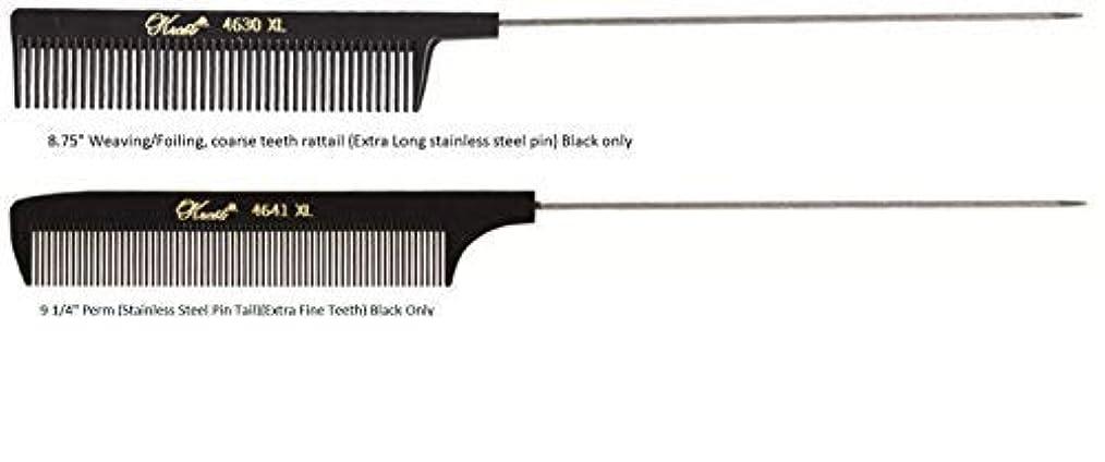 ショップナンセンス好戦的なKrest Pintail Combs 2 Pack, 4641XL-4630XL [並行輸入品]