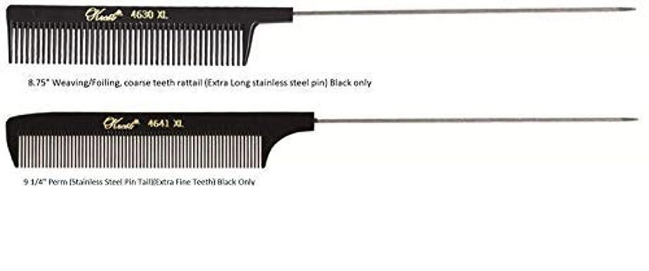 ワゴンシリンダー顎Krest Pintail Combs 2 Pack, 4641XL-4630XL [並行輸入品]