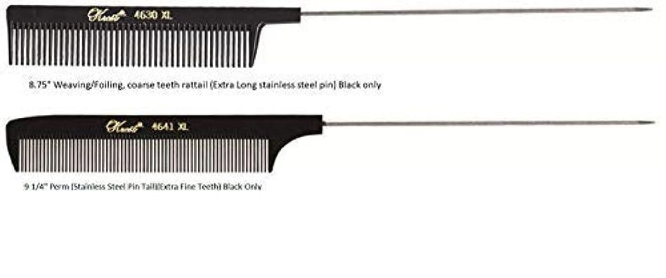 石のに同意する徴収Krest Pintail Combs 2 Pack, 4641XL-4630XL [並行輸入品]