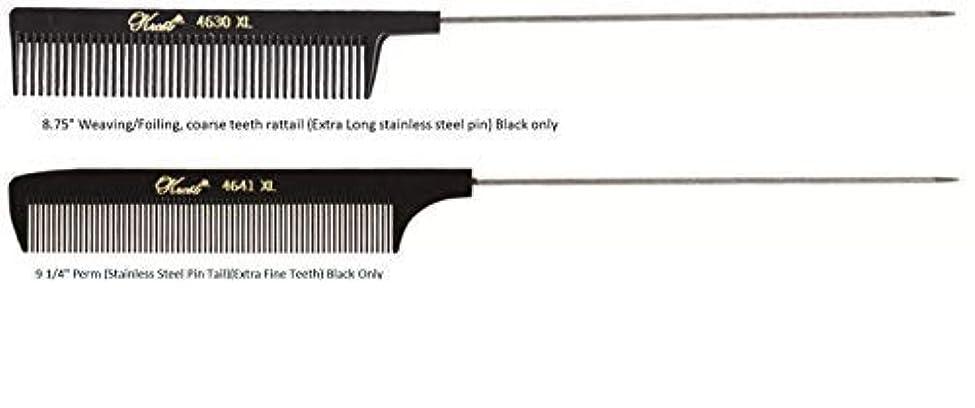 デッドロックブローホール五Krest Pintail Combs 2 Pack, 4641XL-4630XL [並行輸入品]