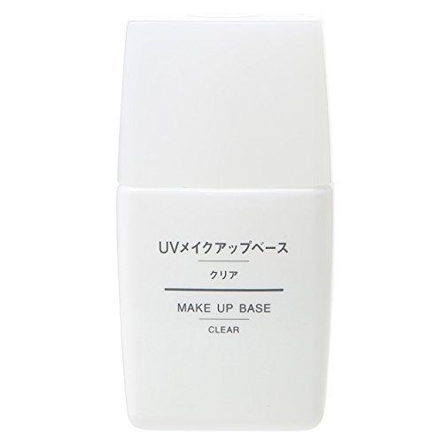 無印良品 UVメイクアップベース・クリア SPF15・PA+ 30mL