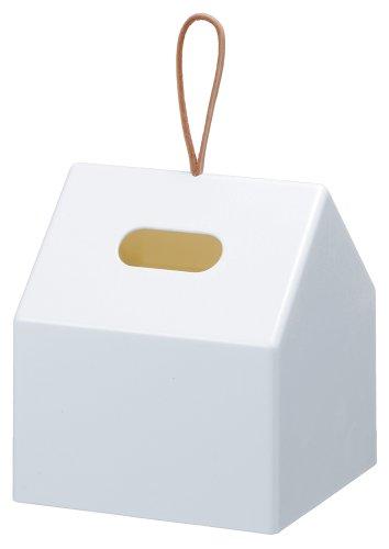 Like-it ロールティッシュペーパーボックス HOME ホワイト