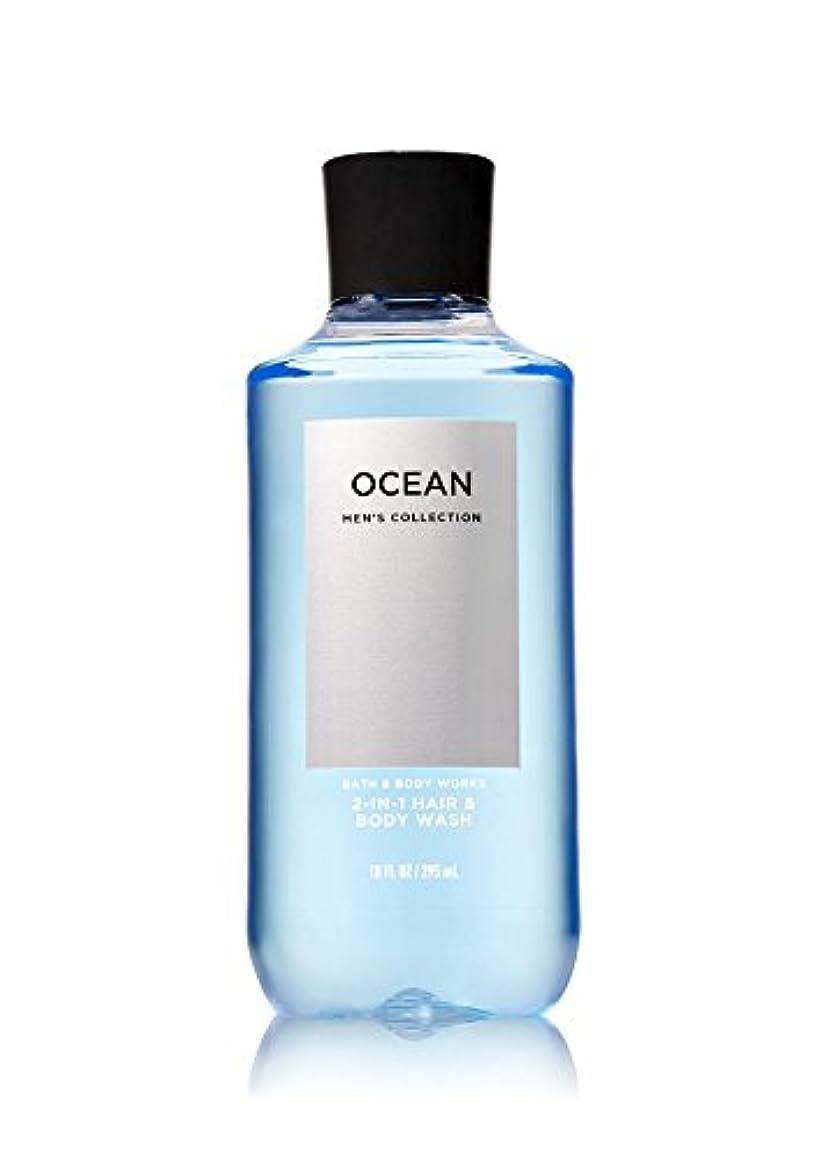 ホスト抗議近々バス&ボディワークス オーシャン フォーメン ボディウォッシュ OCEAN FOR MEN Body Wash [並行輸入品]