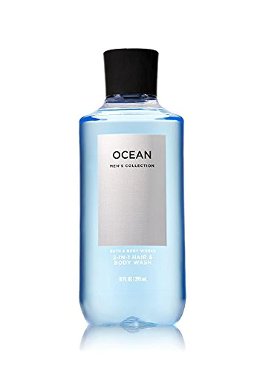 紛争抜本的な使役バス&ボディワークス オーシャン フォーメン ボディウォッシュ OCEAN FOR MEN Body Wash [並行輸入品]