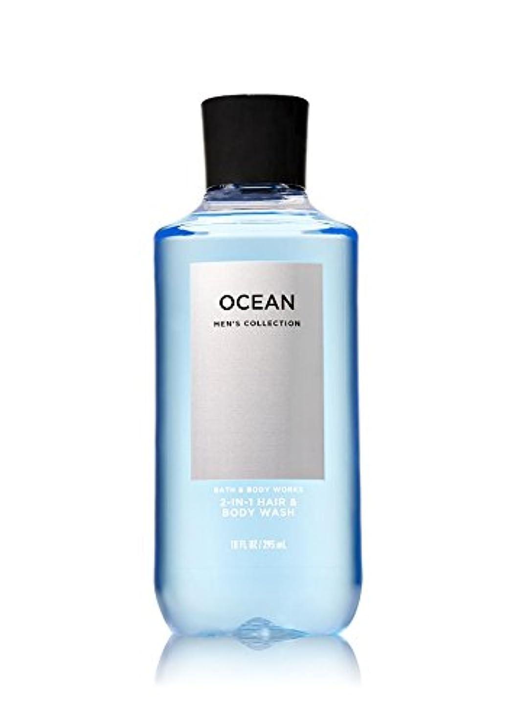 ホイスト建てる見積りバス&ボディワークス オーシャン フォーメン ボディウォッシュ OCEAN FOR MEN Body Wash [並行輸入品]