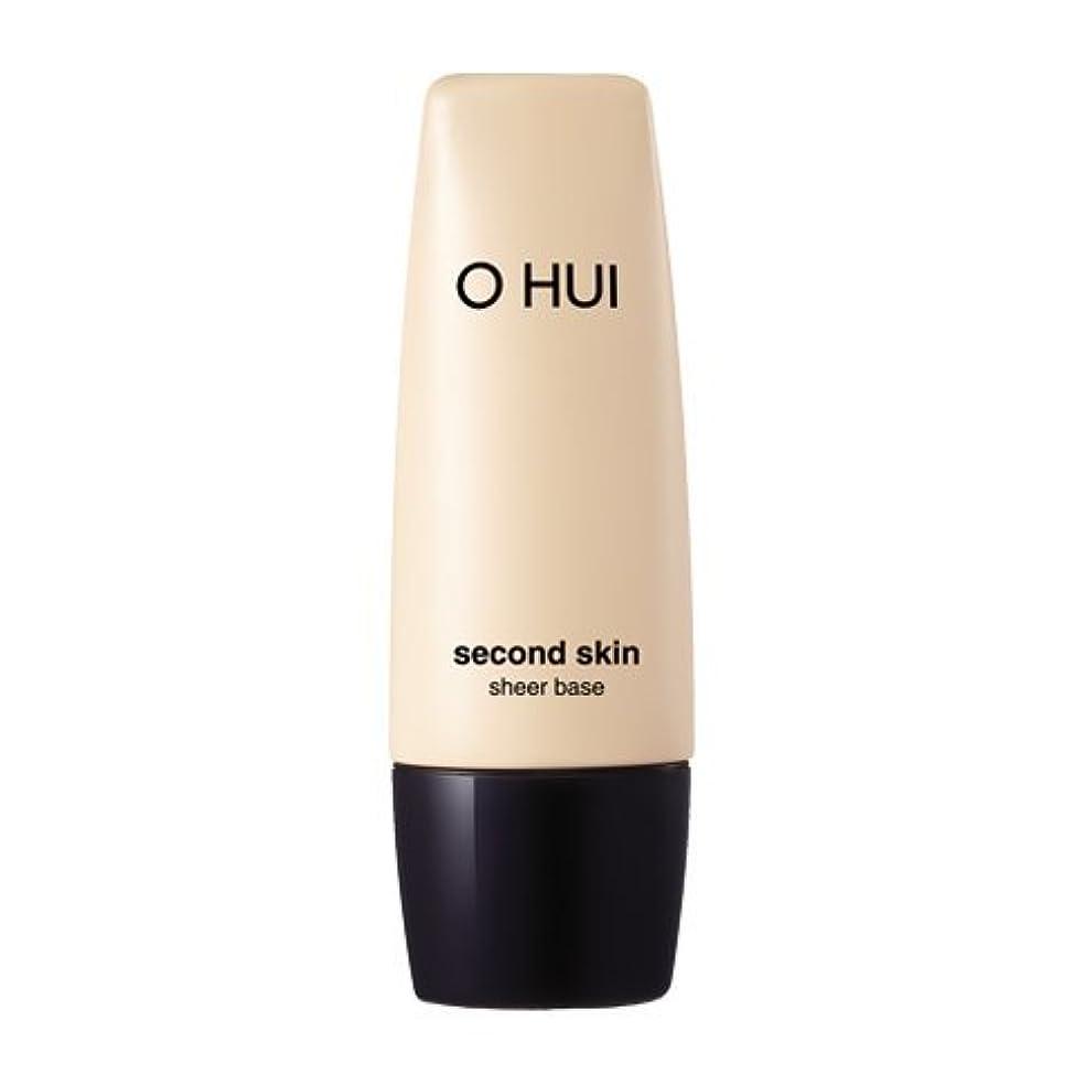 弾性事務所修正するOHUI Second Skin Sheer Base 40ml/オフィ セカンド スキン シア ベース 40ml