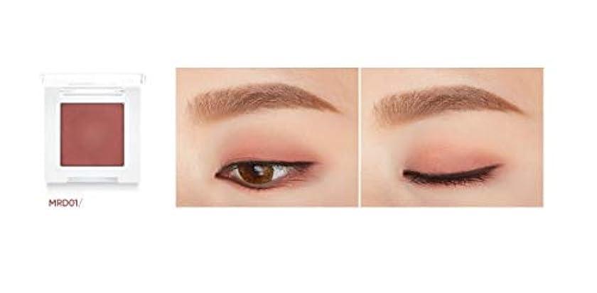 散髪禁止倍増banilaco アイクラッシュマットシングルシャドウ/Eyecrush Matte Single Shadow 2.2g #MRD01 Crush Burgundy [並行輸入品]