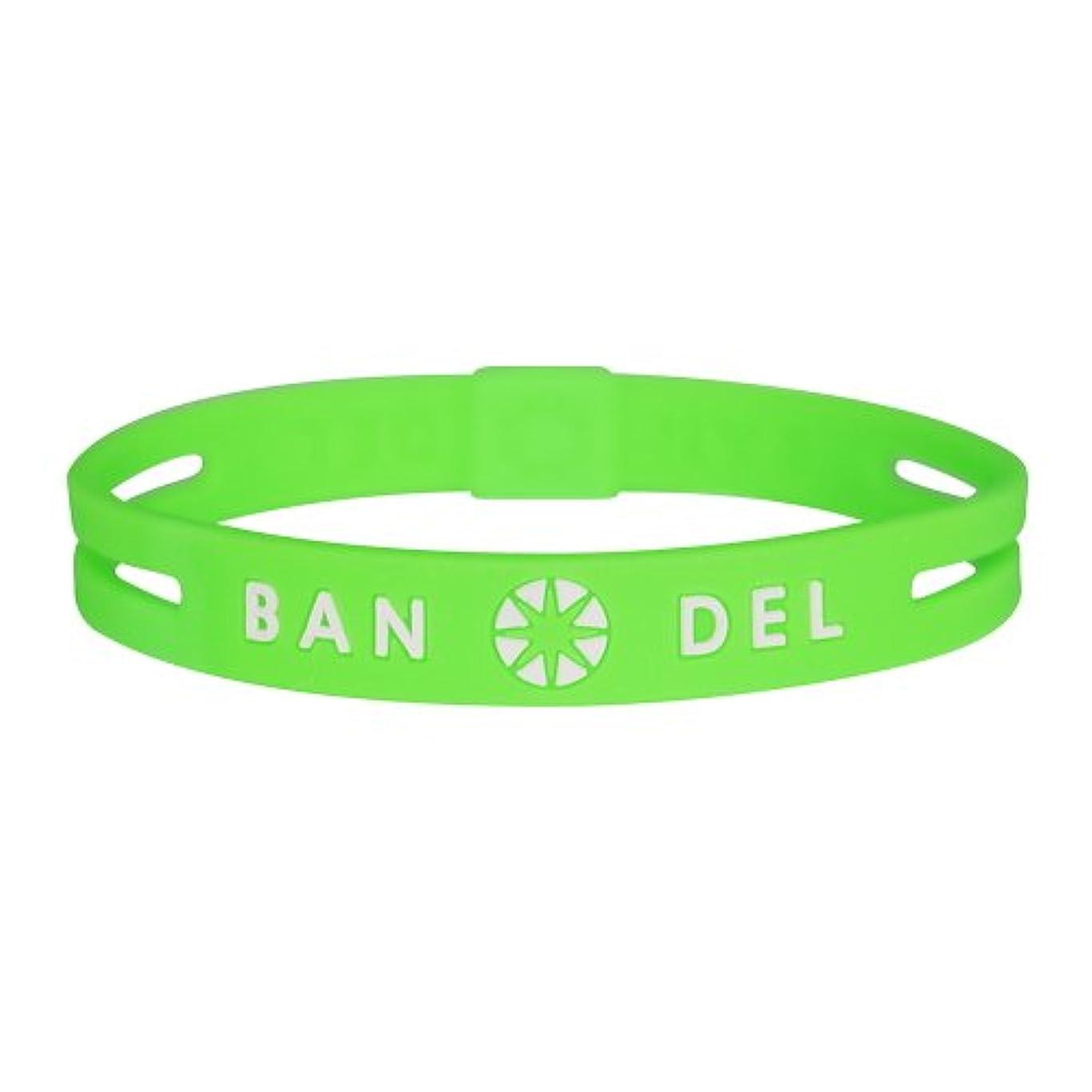 呪われた永遠の理想的バンデル(BANDEL) ストリング ブレスレット グリーン×ホワイト(Green x White)