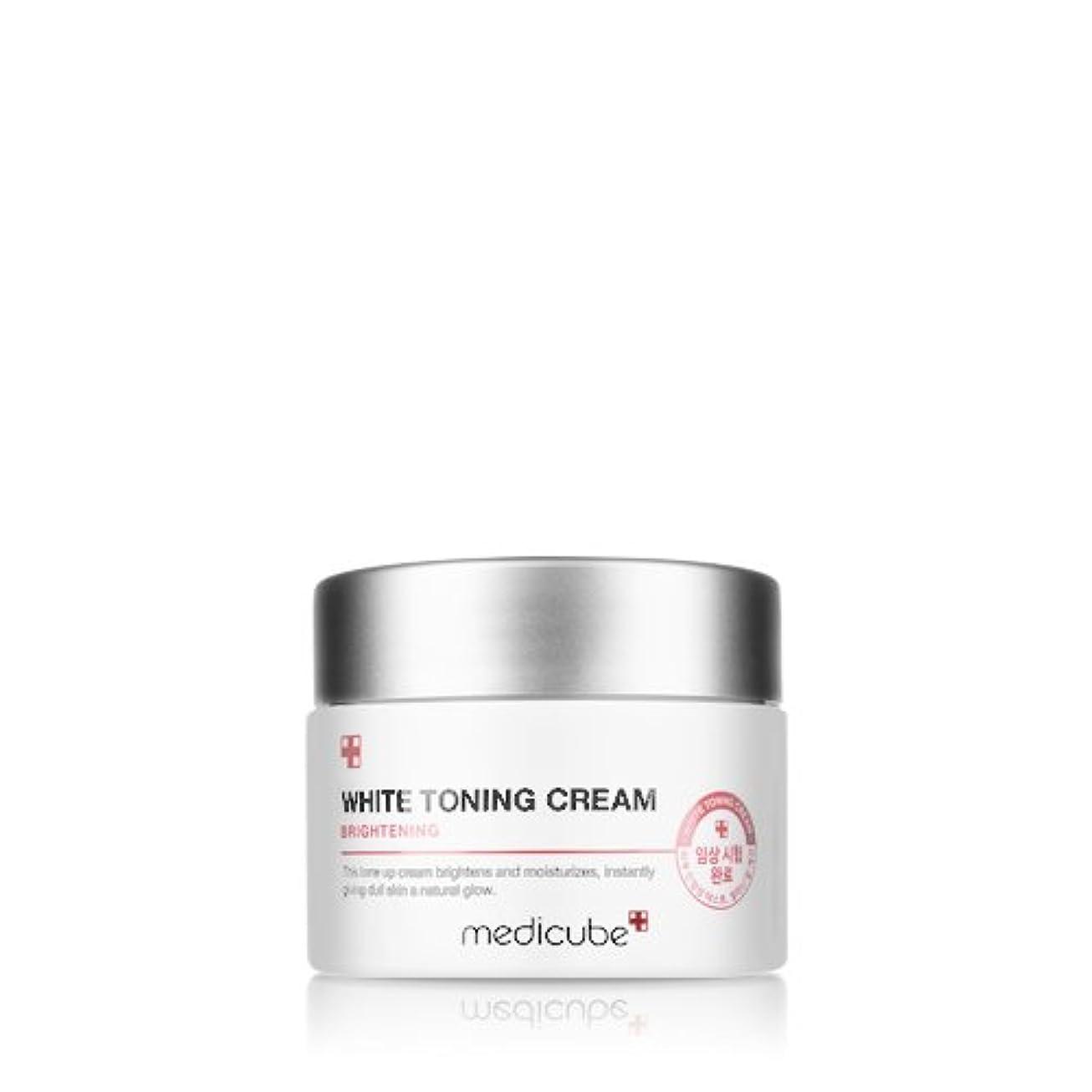かどうか弾性脅威[Medicube] WHITE TONING CREAM / メディキューブ ホワイトトーニングクリーム / 正品?海外直送商品