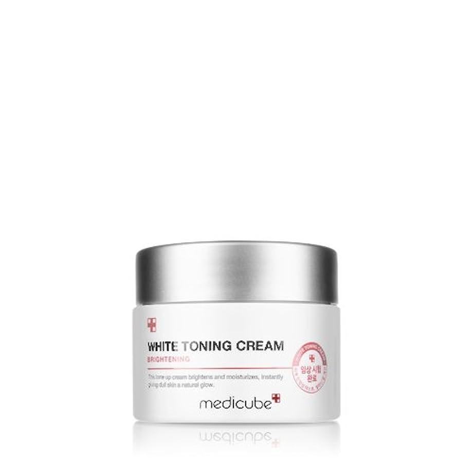 クリープ吸収する引き付ける[Medicube] WHITE TONING CREAM / メディキューブ ホワイトトーニングクリーム / 正品?海外直送商品