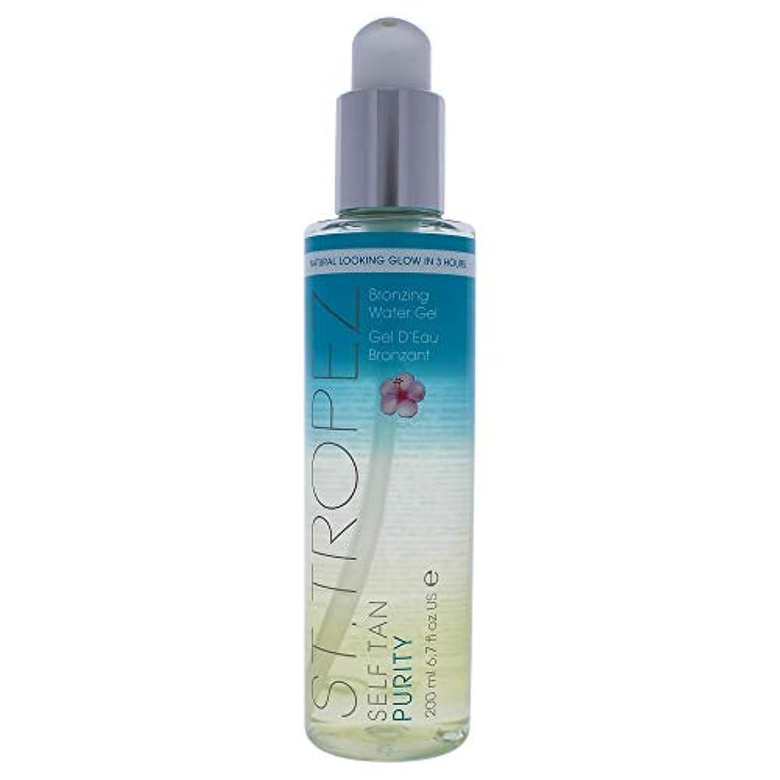 上記の頭と肩天井できるSt. Tropez Self Tan Purity Bronzing Water Gel with Tropical Scent 6.7oz (200ml)