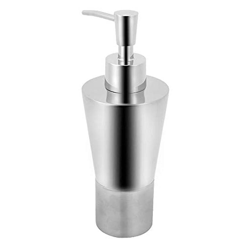 寂しい茎中傷dootiディスペンサー 詰め替え ハンドソープ 洗剤ボトル ステンレス 耐久性 防水 防錆 多種類のソープ液体に適用
