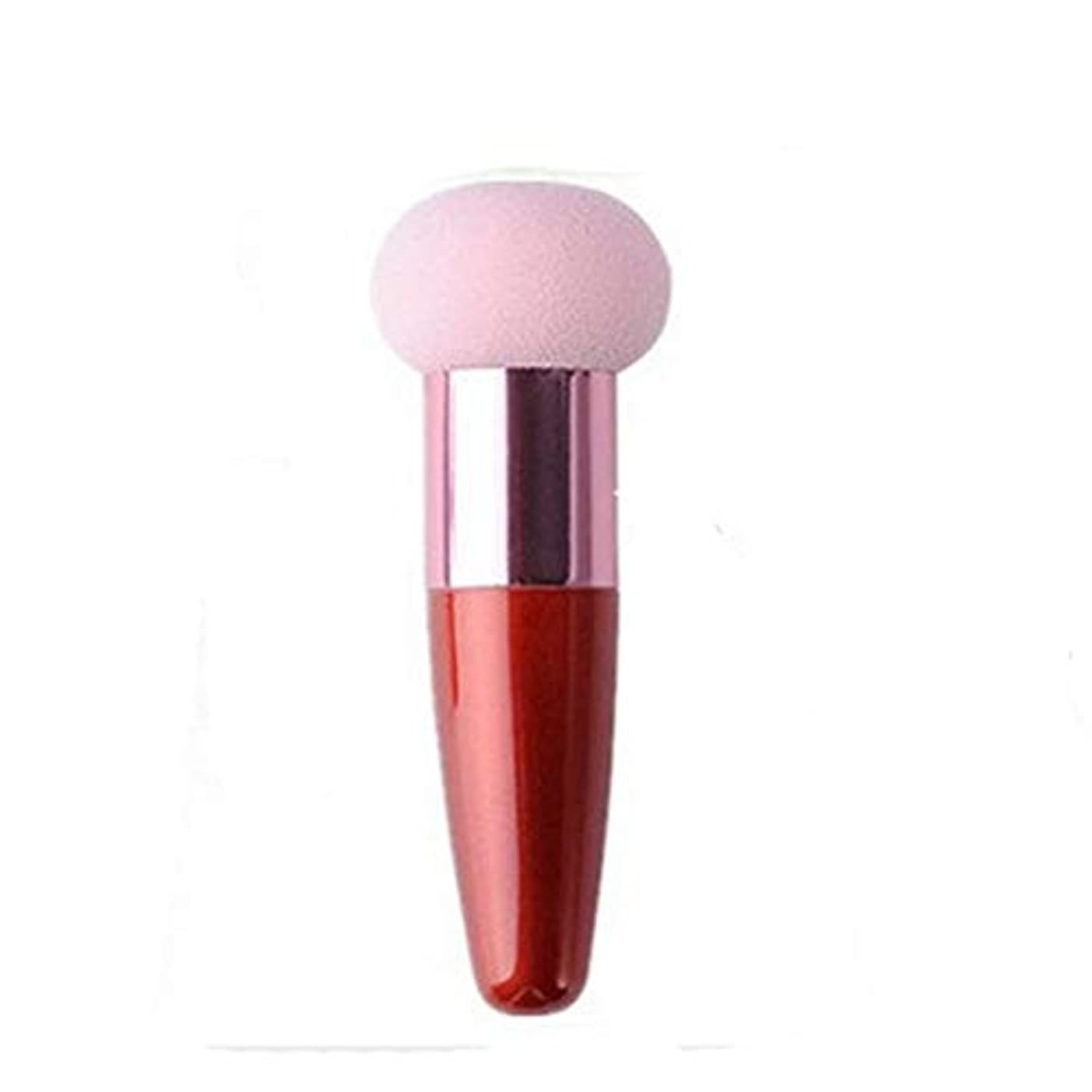 はぁシリンダーわずらわしいKuke メイク用 化粧パフ スポンジ ブラシ 乾湿兼用 メイクアップスポンジ 女性用 パウダーパフ メイクアップ 化粧ツール 美容ツール ファンデーションパフ size 9cm (Pink)
