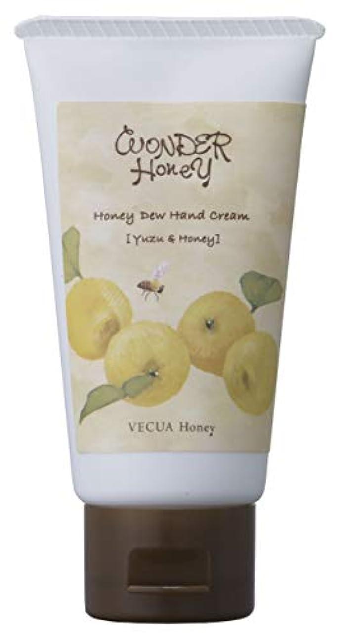 鳴り響く一緒においしいワンダーハニー とろとろハンドクリーム 柚子はちみつ