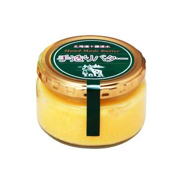 低温殺菌・ノンホモ牛乳と天然塩使用 あすなろファーミング 手造りバター160g