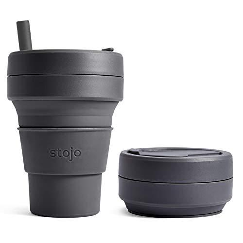 stojo(ストージョ)BIGGIE 16oz/470ml (カーボン)