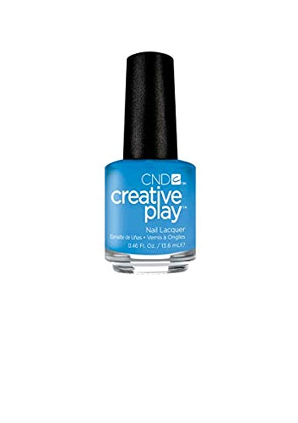 トライアスリート湿原抑圧者CND Creative Play Lacquer - Iris You Would - 0.46oz / 13.6ml