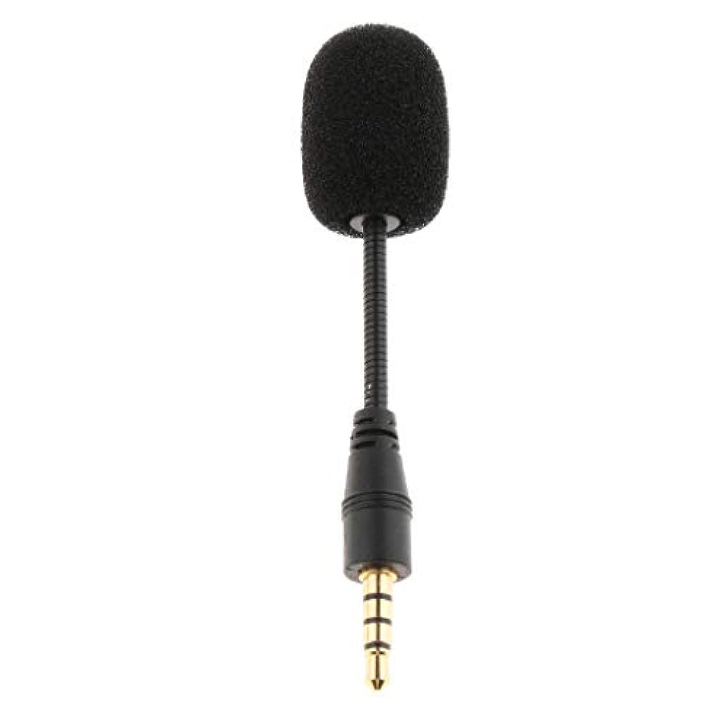 微視的識別リスキーなP Prettyia コンデンサーマイク スピーカーマイク ミニマイク ジャック付き 録音機器 音声アンプ 全3種 - 4極