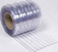 冷蔵庫用ビニールカーテン(のれん式) 超耐寒(リブ付) 厚み2mm×幅300mm×長さ30m巻 1巻