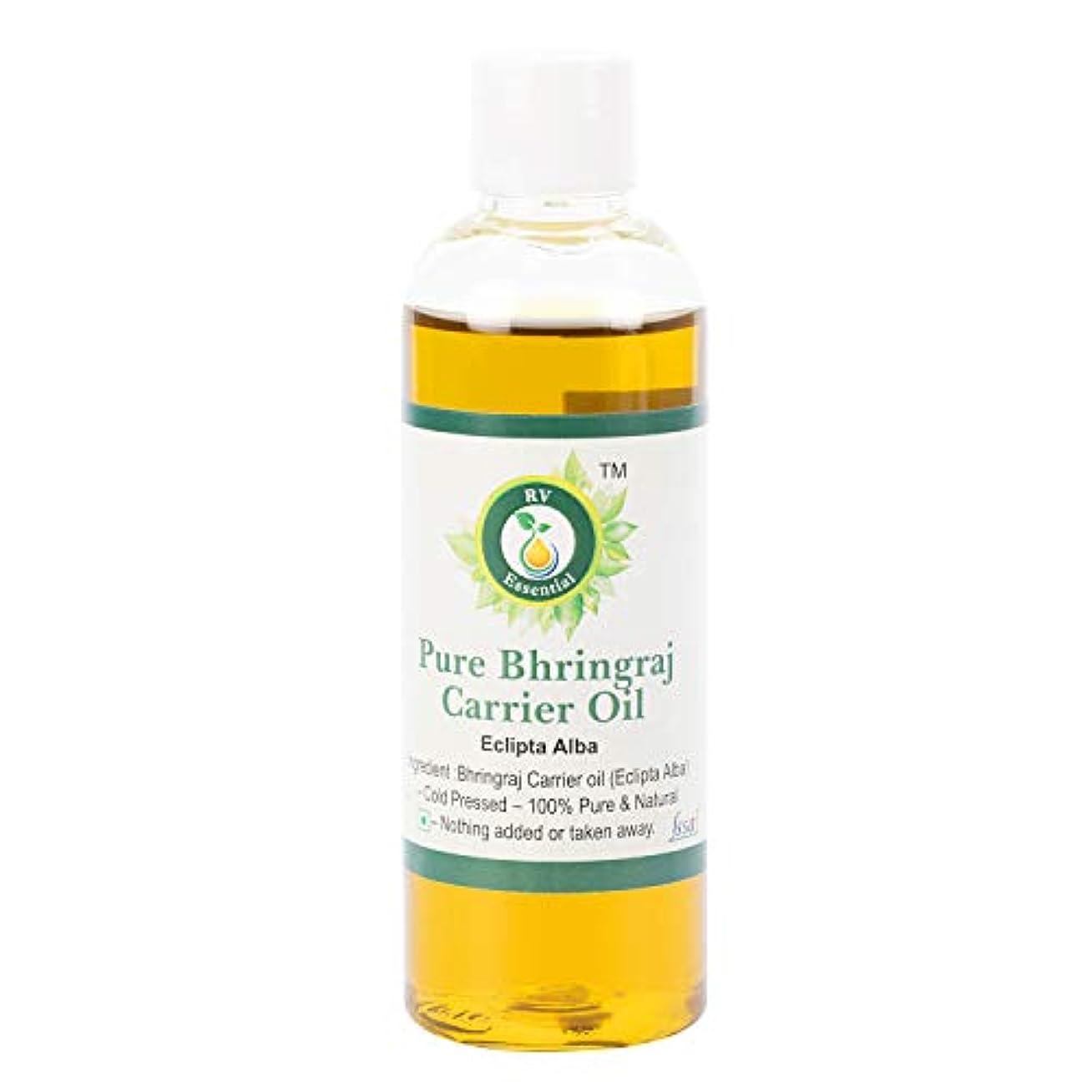 狂気真夜中化学薬品純粋なBhringraj油100ml (3.38oz)- Eclipta Alba (100%純粋で天然の希少ハーブシリーズ) Pure Bhringraj Oil