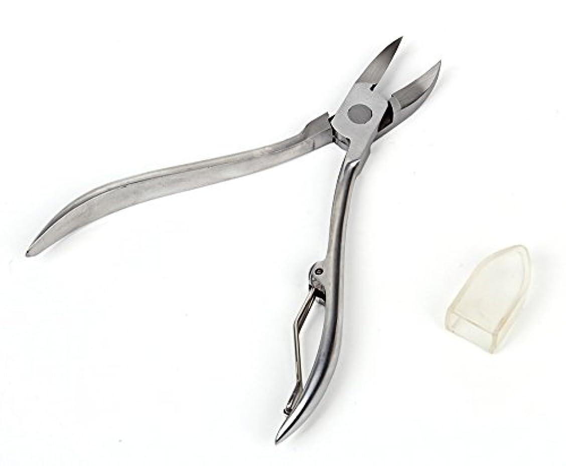 才能のある花火一緒巻きづめ 用 ニッパー式 爪切り カッター はさみ