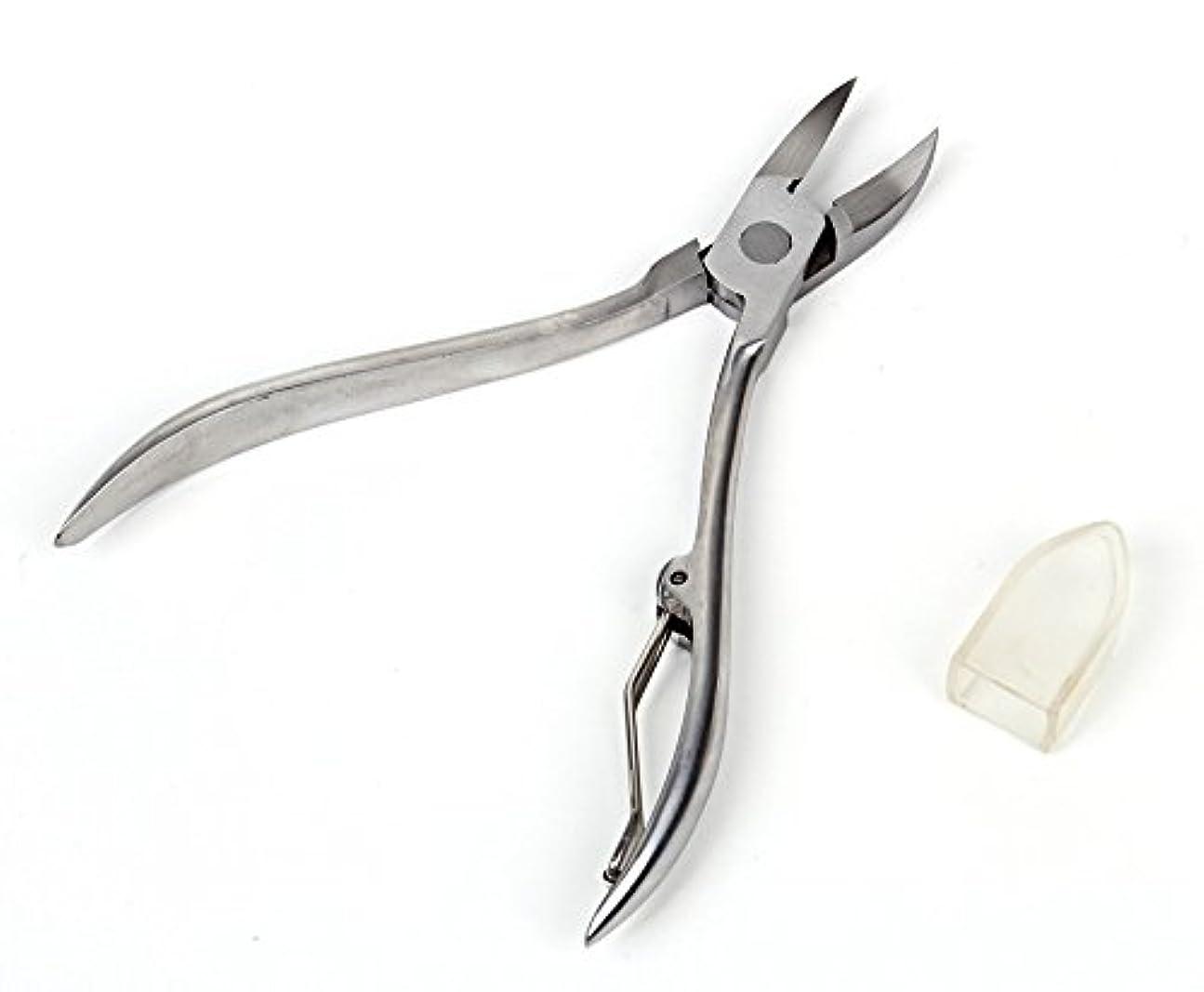 机ライセンス圧倒する巻きづめ 用 ニッパー式 爪切り カッター はさみ
