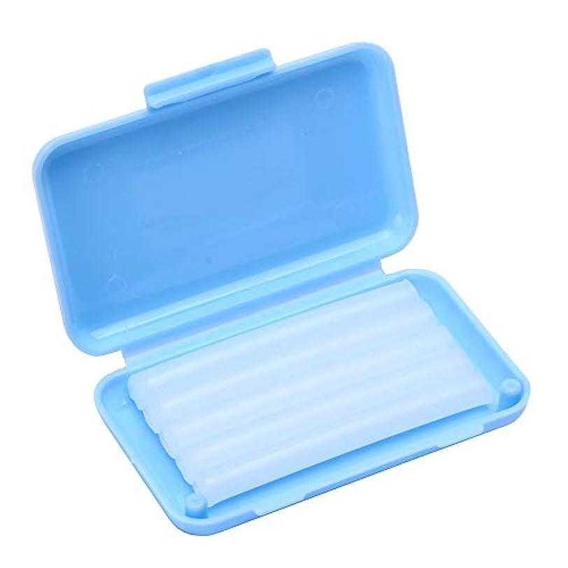 うまれたポット特許Wecando歯科矯正用ワックス 保護ワックス 口腔ケア 抗潰瘍 持ち運び便利 (ミント香り 5箱)