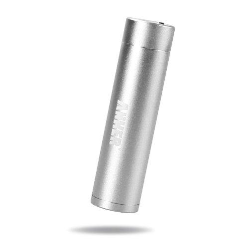 ANKER Asto Mini モバイルバッテリー 3000mAh 小型 軽量 スティックタイプ シルバー iPhone5S 5C 5 4S / iPod / Galaxy / Xepria / Android / 各種スマフォ / Wi-Fiルータ等対応(日本語説明書付き)(silver)