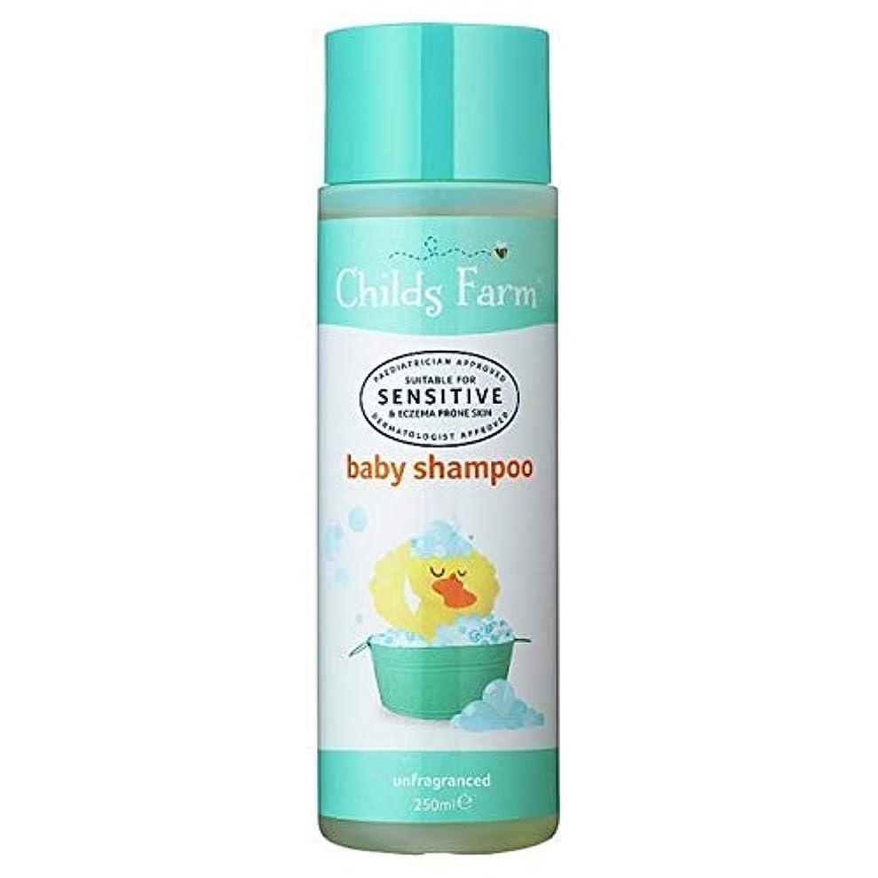 待つ敷居エンゲージメント[Childs Farm ] チャイルズファームベビーシャンプー250Ml - Childs Farm Baby Shampoo 250ml [並行輸入品]