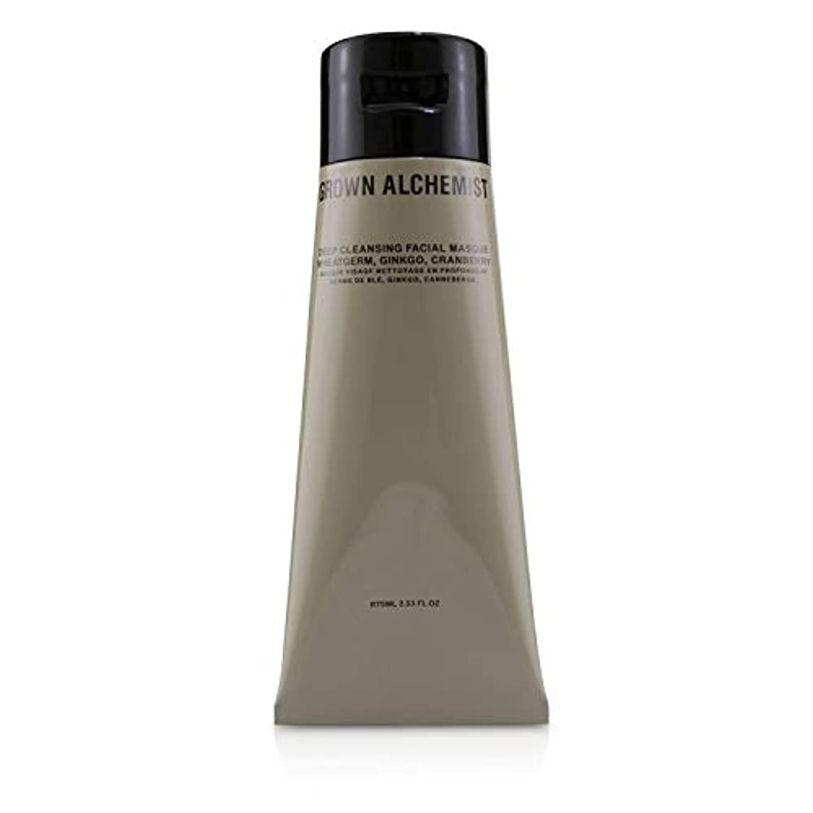 黙認する体操選手防衛Grown Alchemist Deep Cleansing Facial Masque - Wheatgerm, Ginkgo & Cranberry 75ml/2.53oz並行輸入品