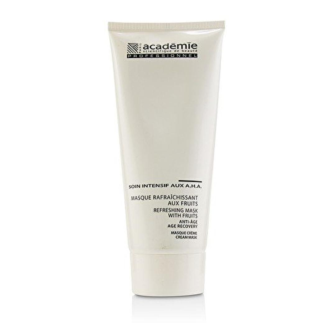 教授温度計挑発するアカデミー Refreshing Mask With Fruits Age Recovery Cream Mask (Salon Size) 200ml/6.7oz並行輸入品