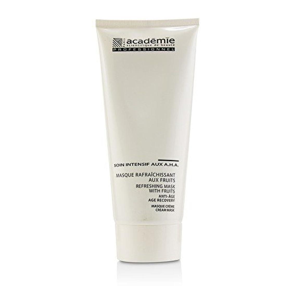 ストライプ状況慢アカデミー Refreshing Mask With Fruits Age Recovery Cream Mask (Salon Size) 200ml/6.7oz並行輸入品