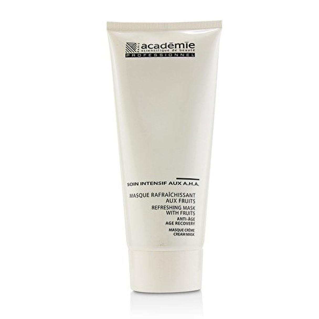 真っ逆さま減るシリンダーアカデミー Refreshing Mask With Fruits Age Recovery Cream Mask (Salon Size) 200ml/6.7oz並行輸入品