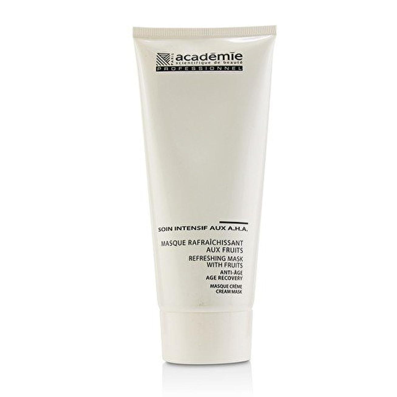 知覚市民権繁栄アカデミー Refreshing Mask With Fruits Age Recovery Cream Mask (Salon Size) 200ml/6.7oz並行輸入品