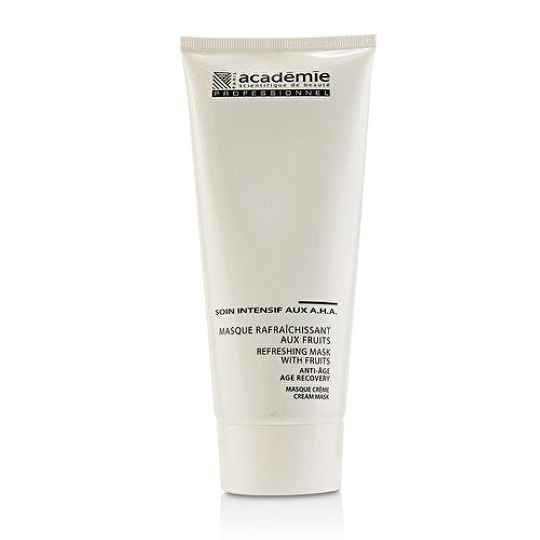 報酬のぞき見従事したアカデミー Refreshing Mask With Fruits Age Recovery Cream Mask (Salon Size) 200ml/6.7oz並行輸入品