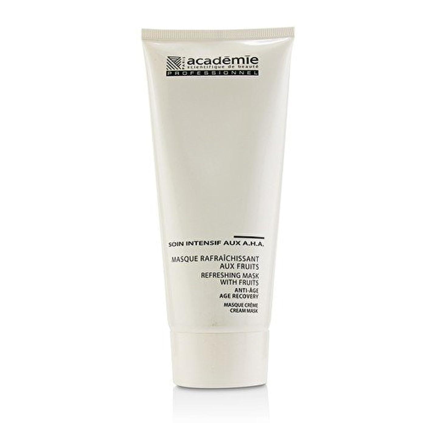 農業の小学生ギャザーアカデミー Refreshing Mask With Fruits Age Recovery Cream Mask (Salon Size) 200ml/6.7oz並行輸入品