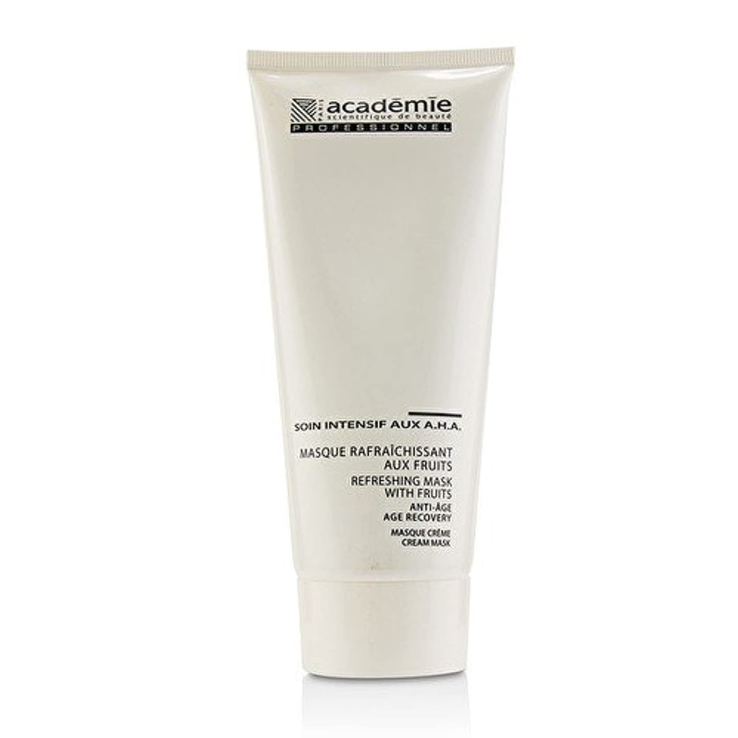 よろしく不平を言う叫び声アカデミー Refreshing Mask With Fruits Age Recovery Cream Mask (Salon Size) 200ml/6.7oz並行輸入品