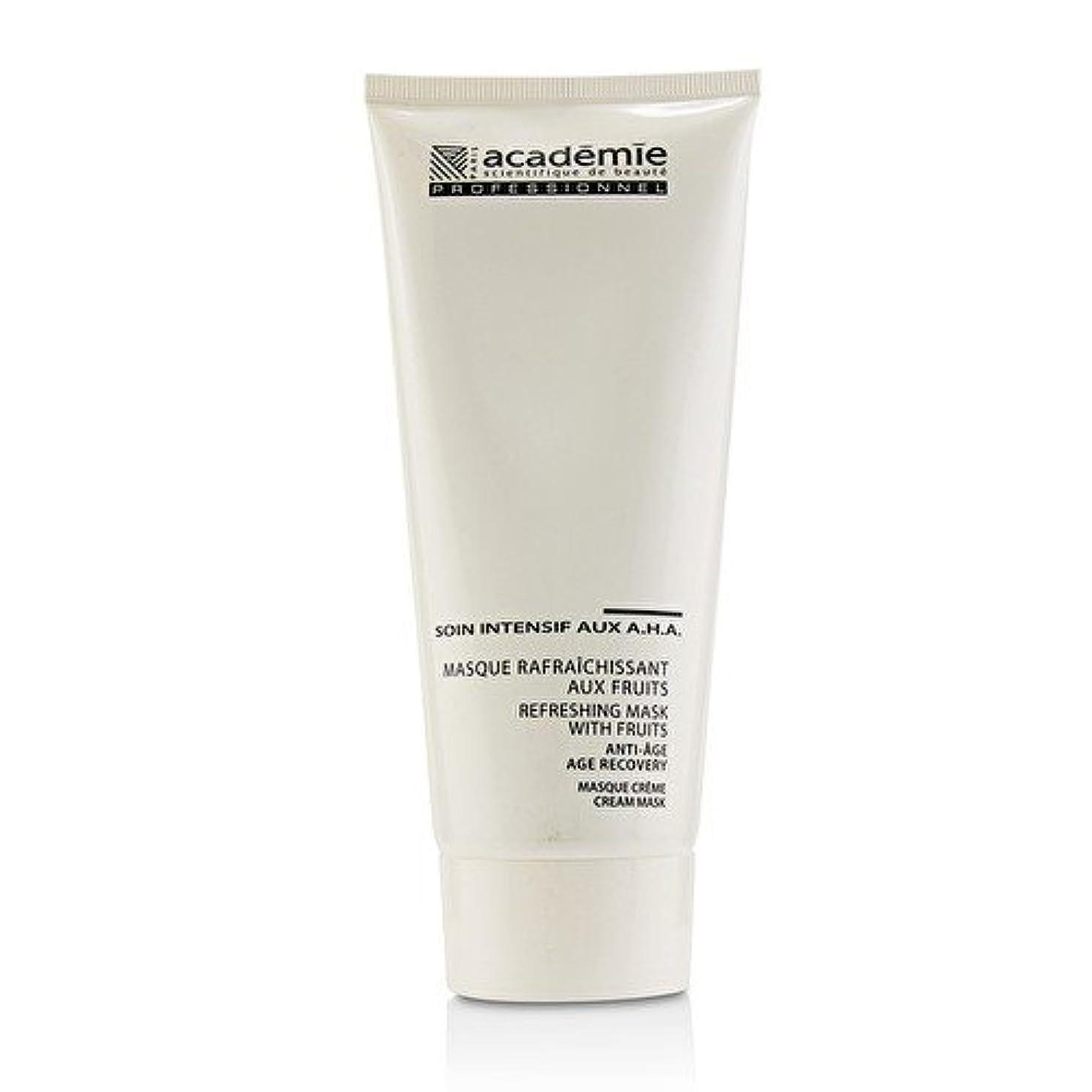 拍手枯れる聡明アカデミー Refreshing Mask With Fruits Age Recovery Cream Mask (Salon Size) 200ml/6.7oz並行輸入品