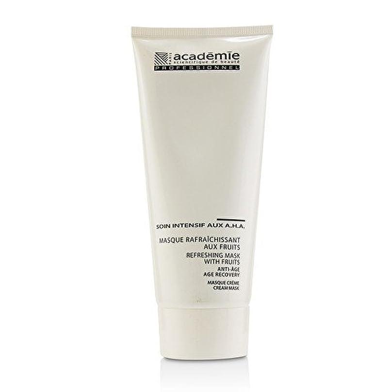 悪質な開いた子孫アカデミー Refreshing Mask With Fruits Age Recovery Cream Mask (Salon Size) 200ml/6.7oz並行輸入品