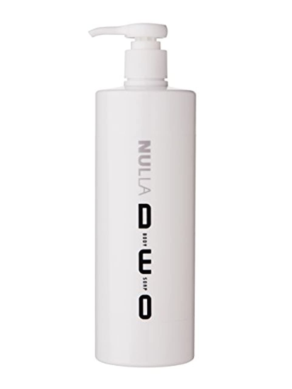 フレキシブル早いフクロウNULLA(ヌーラ) ヌーラデオ ボディソープ [ニオイ菌を抑制] 500ml 日本製 加齢臭 体臭 対策 シャボンの香り