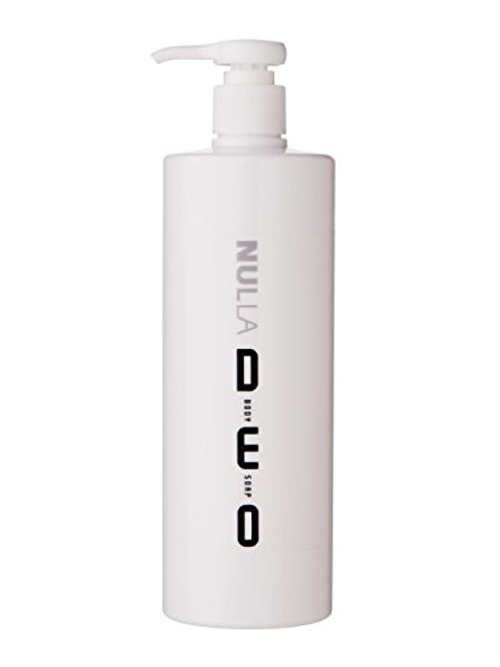 勤勉区別日没NULLA(ヌーラ) ヌーラデオ ボディソープ [ニオイ菌を抑制] 500ml 日本製 加齢臭 体臭 対策 シャボンの香り