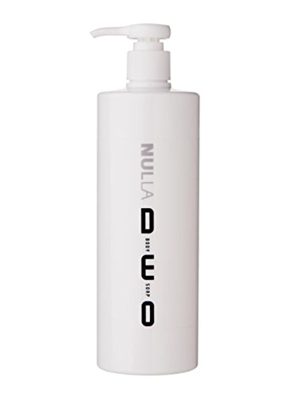 パトロン露未払いNULLA(ヌーラ) ヌーラデオ ボディソープ [ニオイ菌を抑制] 500ml 日本製 加齢臭 体臭 対策 シャボンの香り